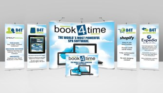 Trade Show Booth - Book4Time