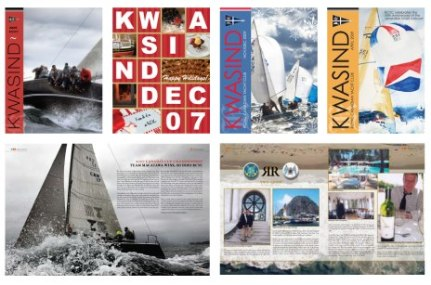 Editorial Design - Kwasind Sailing Magazine