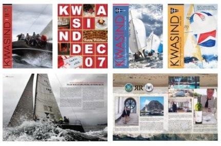 Editorial Design - Kwasind Sailing Magazine