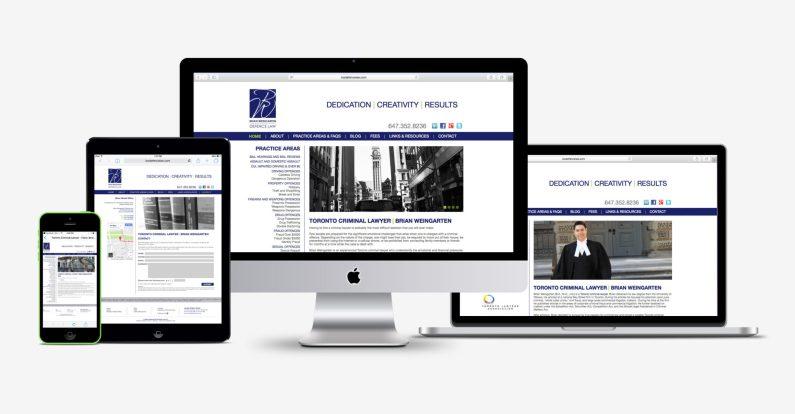 BW Defence Law Branding & Web Design