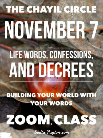 11.7 life words decrees confessions