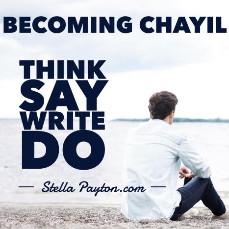 THINK SAY WRITE DO