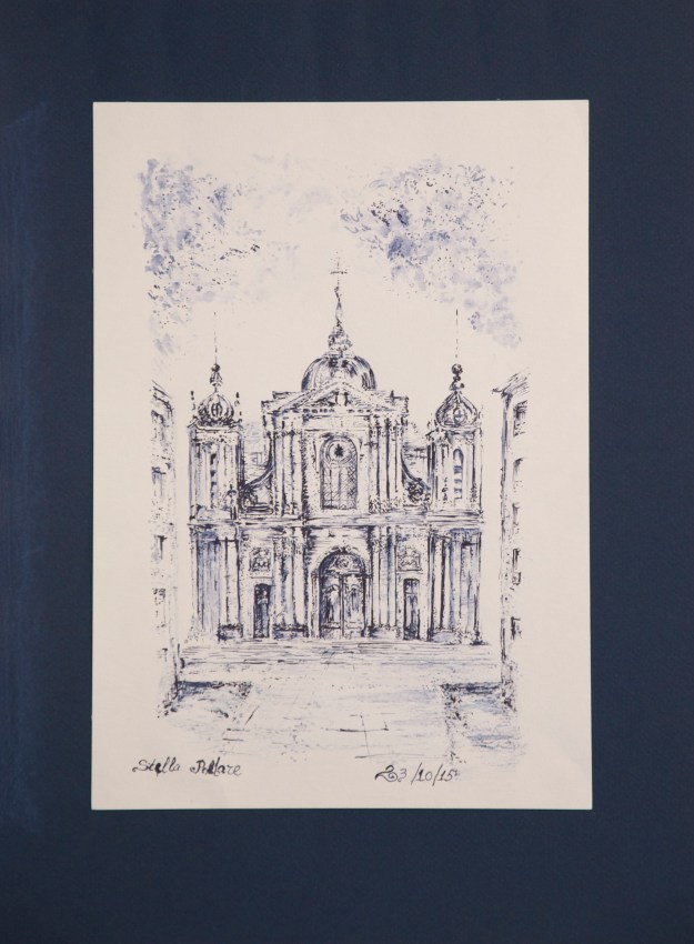 Cathedrale St Louis 21x29,7