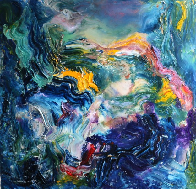 Best abstract painting by Stella Polare
