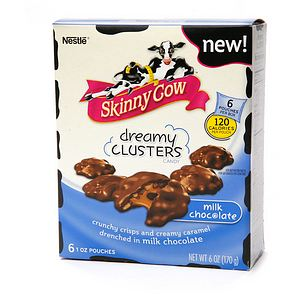 These Skinny Cow chocolate clusters really hit the spot when I need something sweet, and something chocolate!