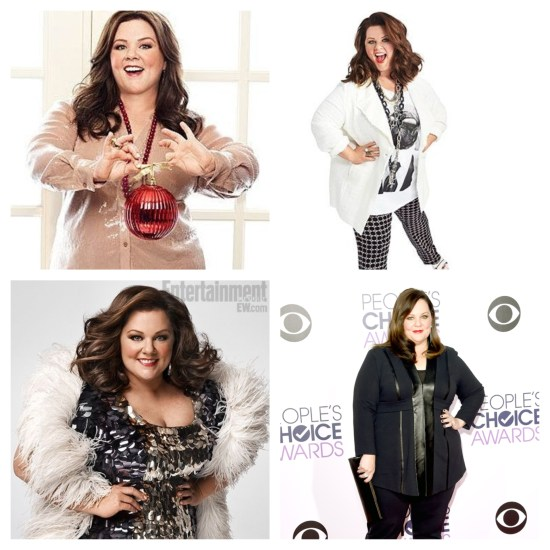 Awesome body positive role model Melissa McCarthy!