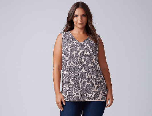 Lane Bryant essential shell