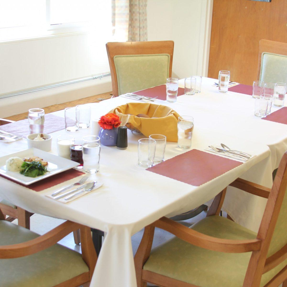 Laramie Care Center Dining
