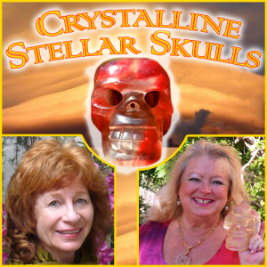 Crystalline Stellar Skulls and Team Earth can help you with your ascension health