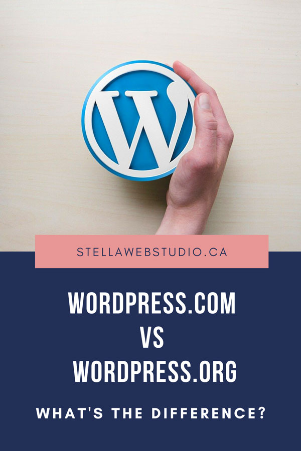 What's the difference between wordpress.com and wordpress.org