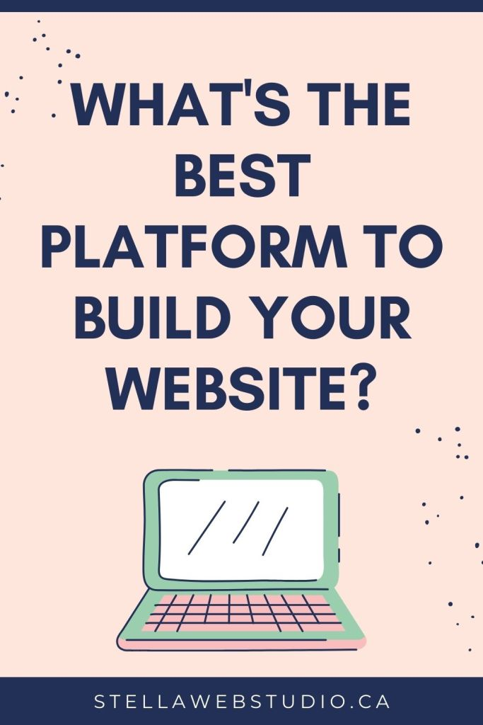 What platform should I use to build my website - Read a comparison of the 3 most popular website builders.