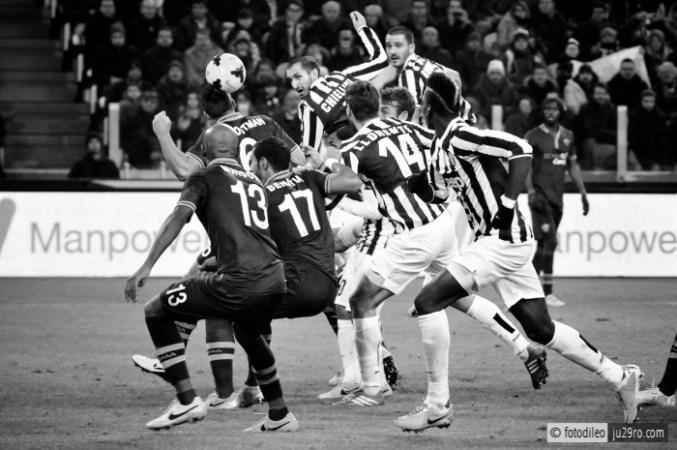 © Francesco Di Leonforte Sport Calcio Campionato TIM Serie A Calcio Juventus Stadium Juventus - Roma