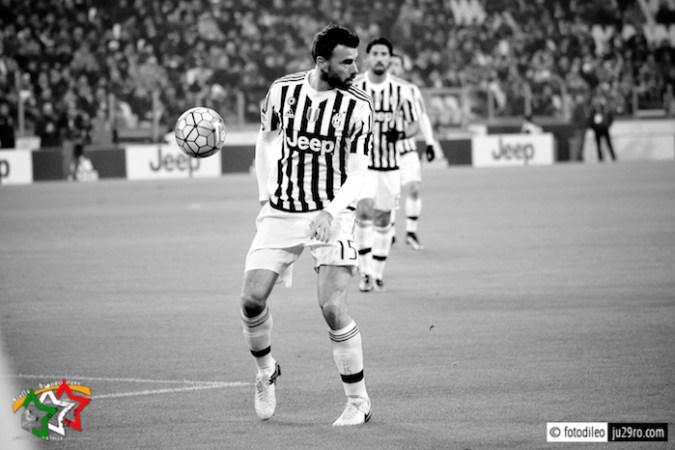 Barzagli, il muro difensivo della Juventus