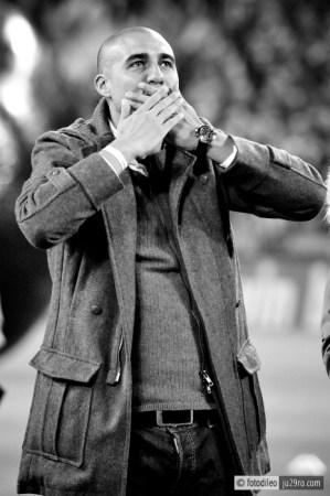 © Francesco Di Leonforte - Juventus Stadium Trezeguet prima di Juventus - Roma