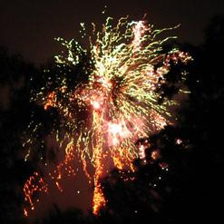 A Neighbor's Fireworks