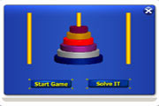 Towers of Hanoi Widget