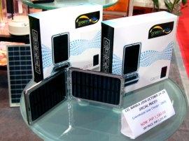 CEL Manila 2008 Green Mobile solar charger