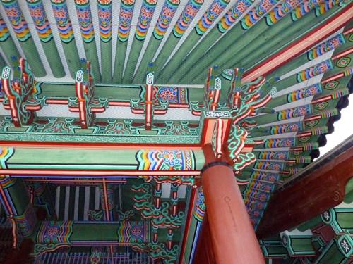Gyeongbokgung: roof detail