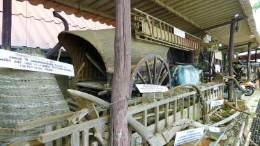 Damnoen Saduak farming equipment