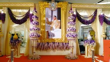 Siam Paragon King Rama IX orchid exhibit