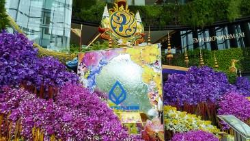 Siam Paragon orchid exhibit