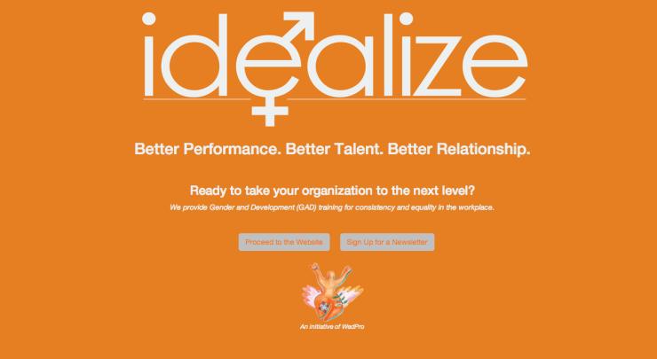 Idealize Asia website by Dynamos