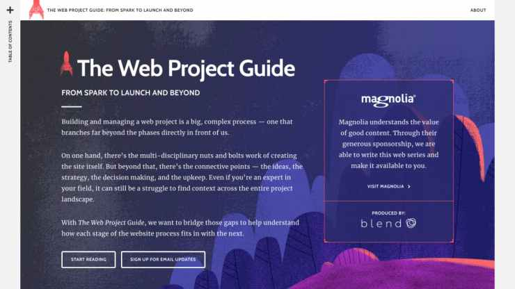 The Web Project Guide by Corey Vilhauer and Deane Barker