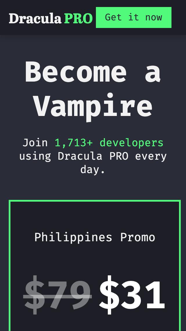 Dracula Theme by Zeno Rocha