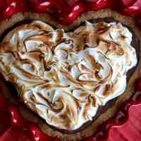 Valentine's Trifecta: S'mores Brownie Pie