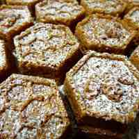 The Bee's Knees: Pull-Apart Honey-Cola Cake with Lemon-Vanilla Bean Crème Anglaise