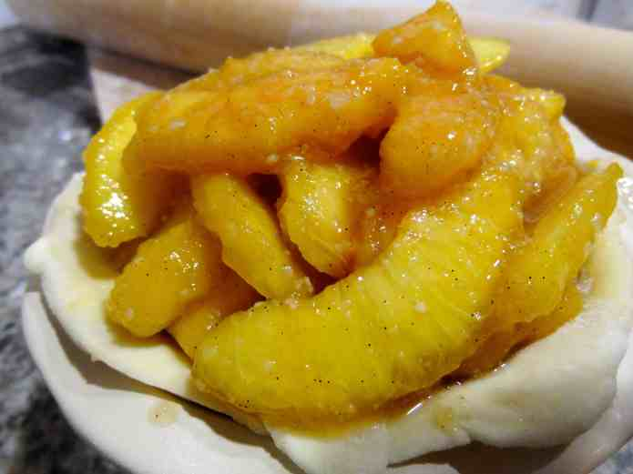 Peach-Vanilla Bean Pie - 13