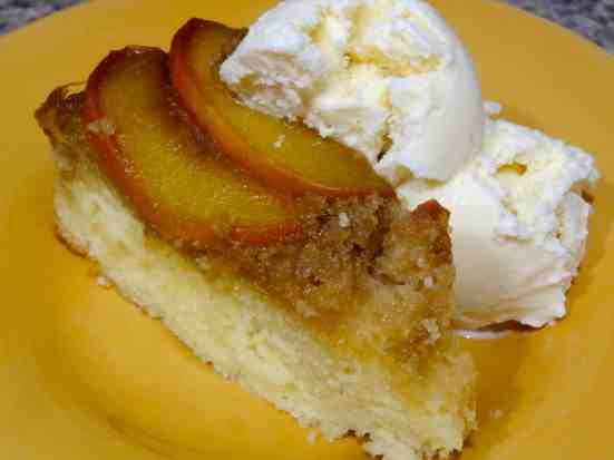 Whiskey Peach Upside-Down Cake - 31