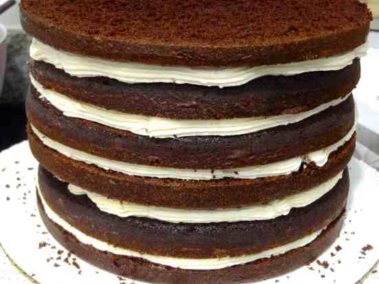 Mile-High Chocolate Cake - 06
