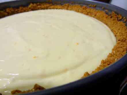 Orange Almond Ricotta Cheesecake - 14