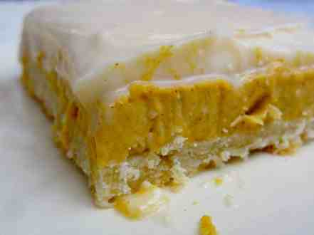 Pumpkin Cheesecake Bars - 36