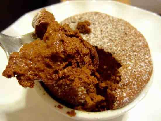 Cinnamon Chocolate Soufflés - 25