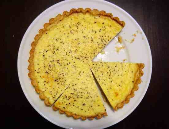 Lemon Pepper Quiche - 18
