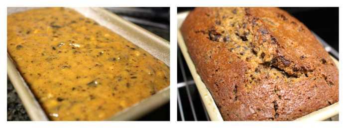 Choc Chunk Pumpkin Bread Pudding - 24