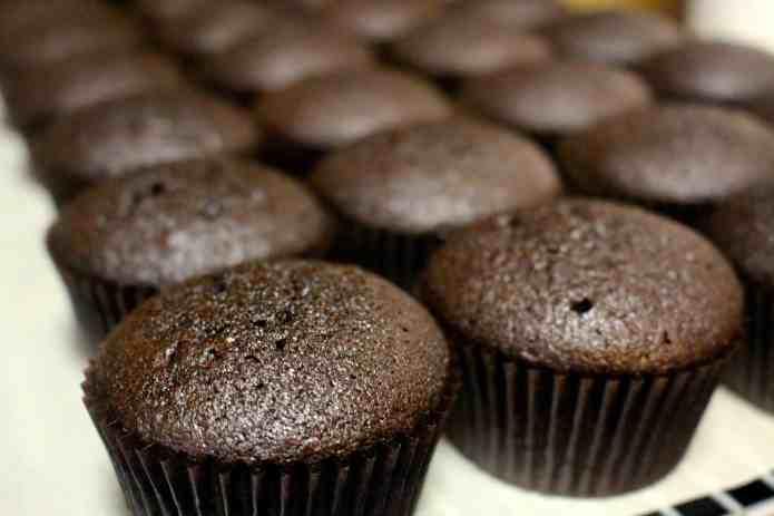 Chocolate Mayo Cupcakes - 08