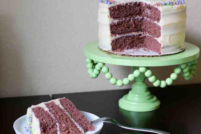 Purple Velvet Cake - 60