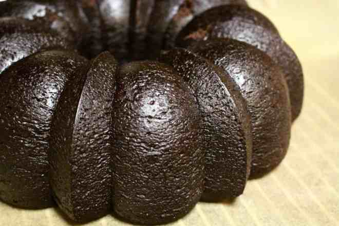 Black Cocoa Bundt Cake - 18