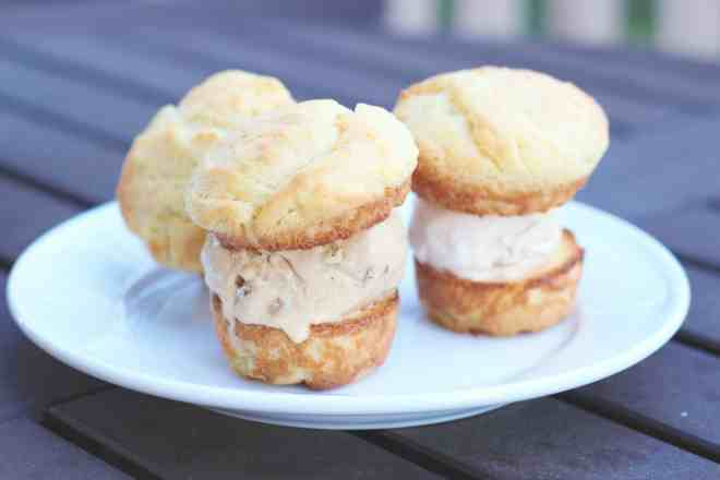 Brioche Ice Cream Sandwiches - 26