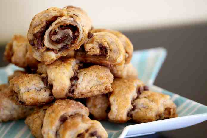 Chocolate Speculoos Rugelach - 22
