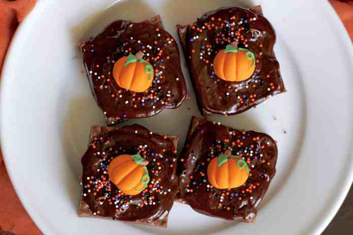 Milk Chocolate Malted Brownies - 16