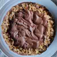 Baked Sunday Mornings: German Chocolate Cake