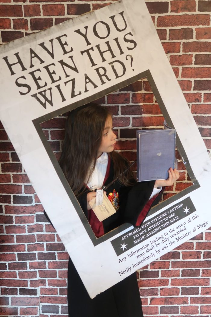 Have you seen this wizard? photobooth fête d'anniversaire Harry Potter