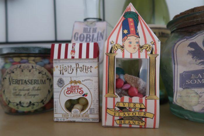Décoration fête d'anniversaire Harry Potter Honeydukes anniversaire Harry Potter