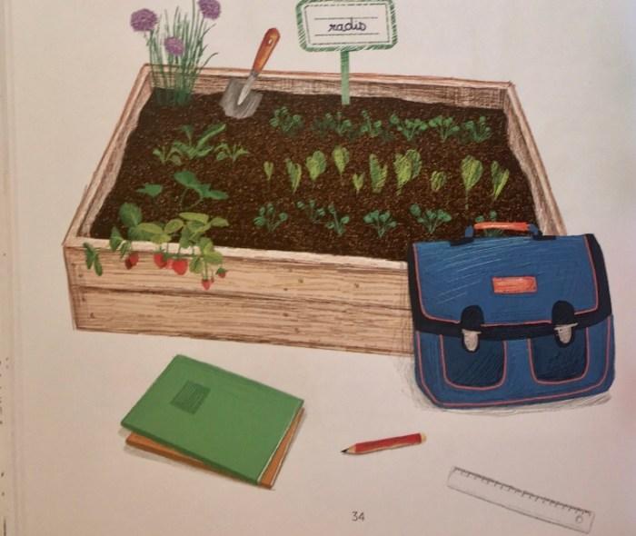 Mon cahier d'activités nature Le potager, Éditions Nathan et association Colibris.