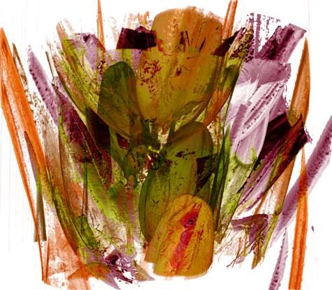 Image: 'Wheat Section' by Eleanor Gates-Stuart