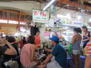 a dessert shop in Ben Thanh Market